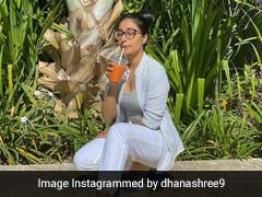 धनाश्री वर्मा एक साथ विटामिन डी और सी लेती आईं नजर, युजवेंद्र चहल की पत्नी की Photos हुईं Viral