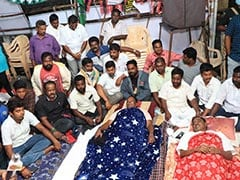 """""""Sack Kiran Bedi"""": Puducherry Chief Minister's Protest Enters Third Day"""