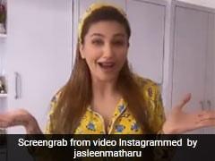 बिग बॉस की एक्स कंटेस्टेंट जसलीन मथारू ने नाइट सूट में किया जमकर डांस... देखें Video