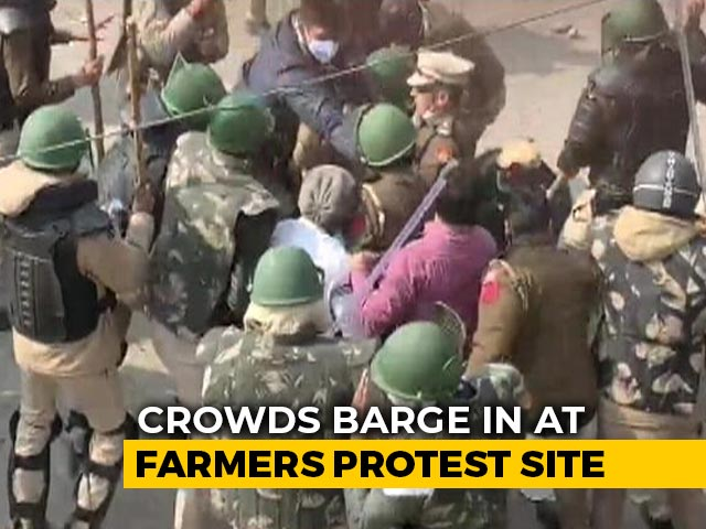 Video : Violence At Farmers' Protest Site: NDTV Ground Zero Report