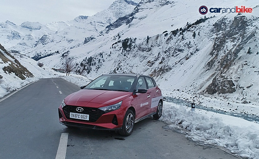 The Hyundai i20 felt at home in higher altitudes and challenging terrains.