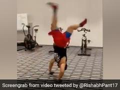 "Australia vs India: Rishabh Pant Spends ""Good Day At Lab"" Ahead Of Third Test. Watch"
