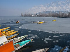 Disaster Response Team Deployed At Frozen Dal Lake To Avoid Mishaps