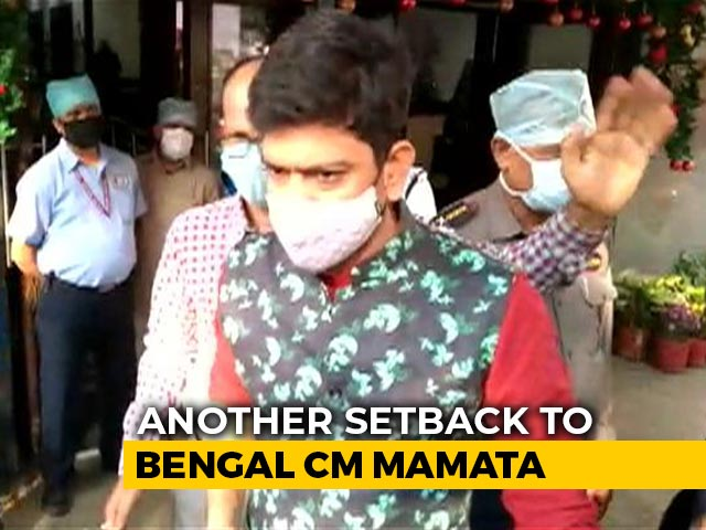 Video : Minister Quits Mamata Banerjee Cabinet, Weeks After Rebels Joined BJP