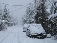 Fuel Rationing, Key Roads Blocked After Heavy Snowfall In Kashmir