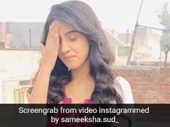 समीक्षा सूद 'बॉयफ्रेंड' को याद कर हो गईं उदास, फिर यूं खुद को संभालती आईं नजर- देखें Video
