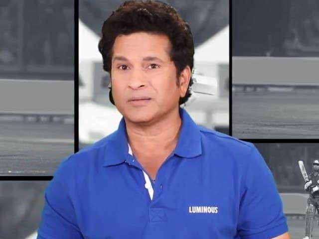 Video : Be A Bijli Donor & Pledge To Save Energy: Sachin Tendulkar