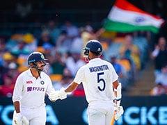 "Australia vs India: Virat Kohli Tips His Hat To ""Outstanding"" Washington Sundar, Shardul Thakur After Batting Heroics In 4th Test"