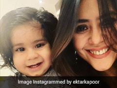 Ekta Kapoor Celebrates Son Ravie's Second Birthday With A Unique Cake And Vegan Treats!