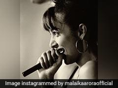 Malaika Arora ने शेयर की ब्लैक एंड व्हाइट थ्रोबैक फोटो, लिखा- मैं खुद को रॉकस्टार समझती थी...