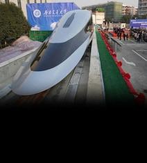 China Debuts 'Floating' Train That Can Travel At 620 Kmph