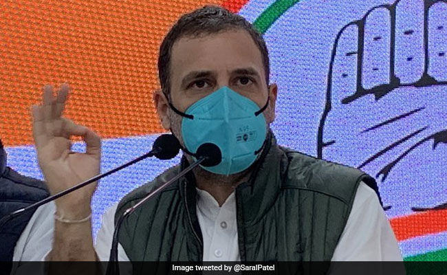 'Tremendous Growth In 'GDP''': Rahul Gandhi's Dig Over Fuel Price Hike