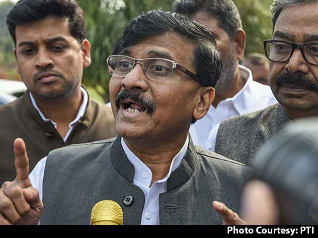 "Video : ""Much Awaited Update"": Sanjay Raut Confirms Sena Joining Fight For Bengal"