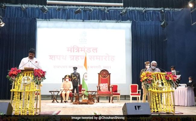 Madhya Pradesh Cabinet Expands, 2 Jyotiraditya Scindia Loyalists Return