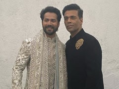 "At Varun Dhawan And Natasha Dalal's Wedding, Karan Johar Was Filled With ""A Multitude Of Emotions"""