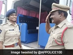 Andhra Cop Salutes Officer Daughter, Viral Photo Wins Hearts