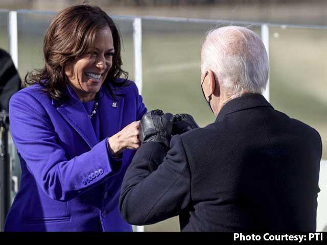 "Video : ""Ready To Serve"": Kamala Harris First Woman Takes Oath As US Vice President"