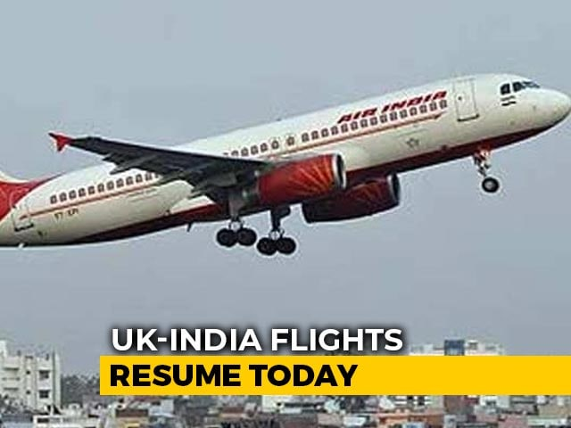 Video : Air India Flight With 246 From UK Lands In Delhi Amid New Strain Worry