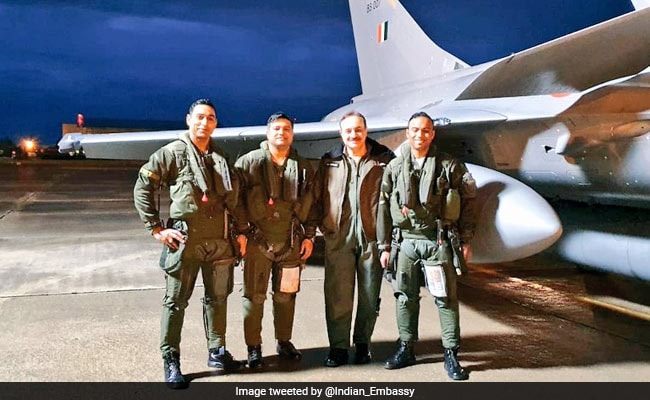 Three More Rafale Fighter Jets Leave For India From France