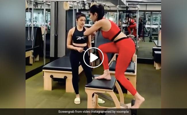 Katrina Kaif ने यूं किया वर्कआउट, फैन्स बोले- अब स्कूटर आराम से स्टार्ट कर सकती हैं... देखें VIDEO
