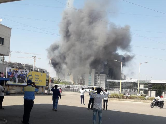 Video : Fire At Serum Institute, Covishield Production Won't Be Hit: Sources