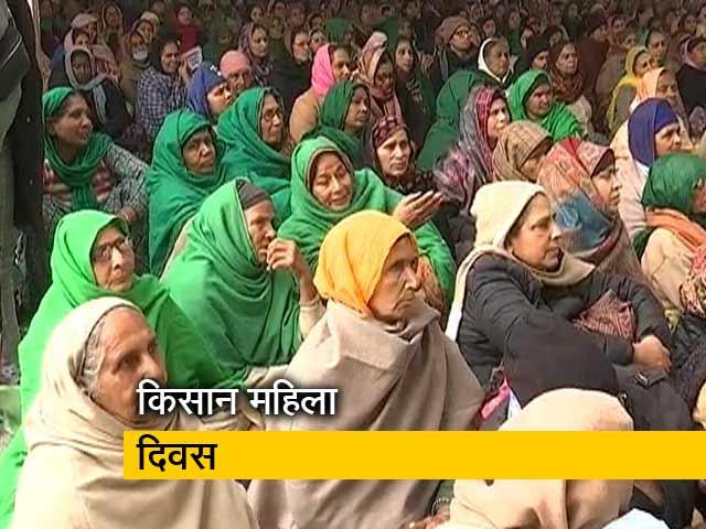 Video : किसान आंदोलन: मंच से लेकर सुरक्षा तक सिर्फ महिलाएं