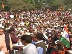 """Thousands Gather For Third """"<i>Mahapanchayat</i>"""" Against Farm Laws In UP"""