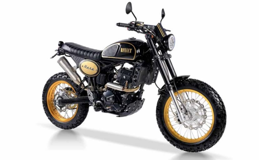 The Hero 250 joins the range of scrambler-styled motorcycles from Bullit