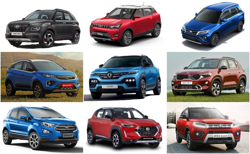 The subcompact SUV segment now comprises 9 contenders including the Renault Kiger