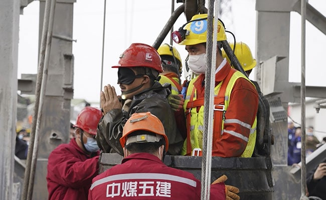 'Feel Like I'm Reborn': Trapped Chinese Miners Rescued After 2 Weeks