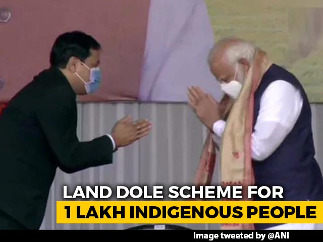 Video : With 1 Lakh Land Allotments, PM Reaches Out To Assam's Indigenous People