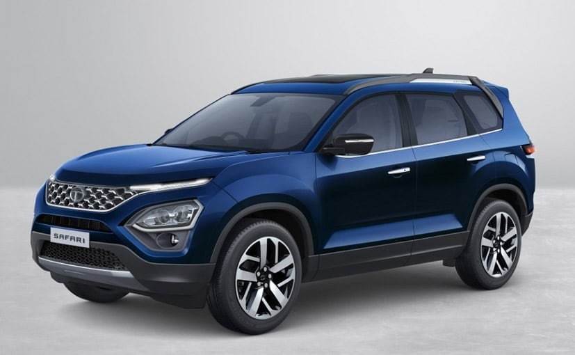 The new Tata Safari is essentially a seven-seater version of the Tata Harrier.