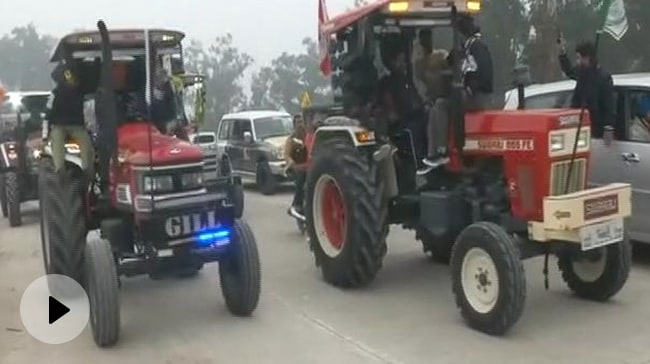 Video | Farmers' Tractor Rally Allowed On 3 Routes; 3,000 Volunteers On Duty