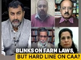 Video : Did Centre's Approach Towards Farmers' Protest Differ From Shaheen Bagh Response?