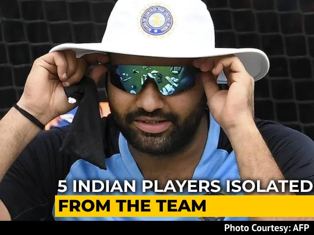 Video : Rohit Sharma, 4 Others In Isolation As BCCI And Cricket Australia Probe Possible Protocol Breach
