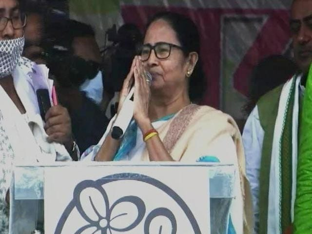 Video : Will Contest From Nandigram: Mamata Banerjee's Big Announcement