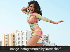 Katrina Kaif Slays Sporty Style In A Tie-Dye Dress And Colourful Sneakers