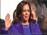 Video : Kamala Harris Becomes First Woman Vice President Of US