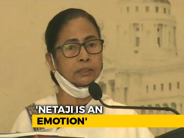 "Video : ""I Don't Understand..."": Mamata Banerjee Criticises Centre Over Netaji"
