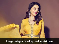 Madhuri Dixit's Sunshine Yellow <i>Anarkali</i> Is One For The Books