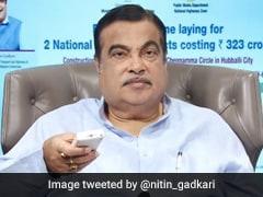Nitin Gadkari Lays Foundation Of Rs 323 Crore Highway Projects In Karnataka