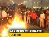 Video : Farmers Burn Copies Of Agriculture Laws On Lohri