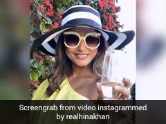 Hina Khan ने अमिताभ बच्चन के गाने पर यूं दिखाया स्वैग, बार-बार देखा जा रहा Video