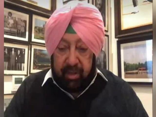 """Video : """"Return To Borders:"""" Amarinder Singh's Appeal To Farmers After Delhi Clashes"""