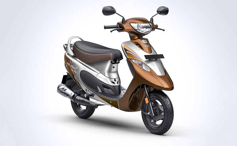 The TVS Scooter Pep Plus Mudhal Kadhal Edition is available only in Tamil Nadu