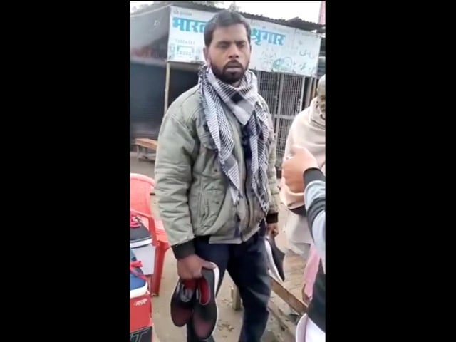 Video : UP Shopkeeper Detained For Selling Shoes With 'Thakur' Branding