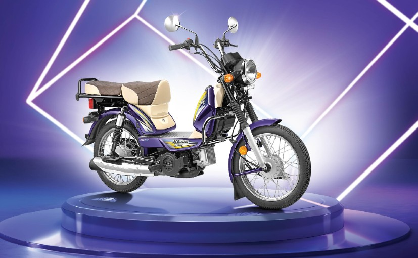 The TVS XL100 moped celebrates its 40th birthday, having been in production since 1980