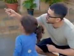 इनाया खेमू पापा संग पतंग उड़ाती आईं नजर, क्यूट Video हुआ वायरल