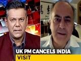 Video : UK Covid Cases Surge, Boris Johnson Cancels India Visit