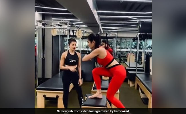 Gym Or Pilates, Katrina Kaif Never Skips Her Workout Routines